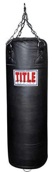 Title Classic Double End Punching Bag