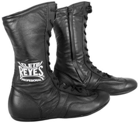 Cleto Reyes Leather High Top Lace Up Boxing Shoes